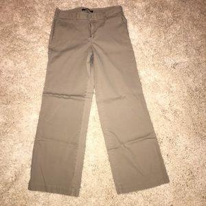 Gap Wide Leg corduroy GapStretch khaki pants